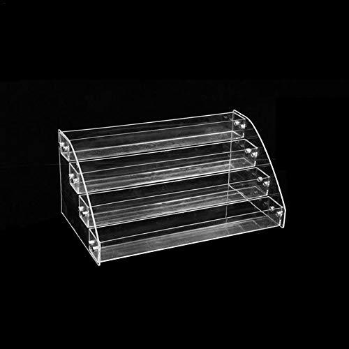 Bulary Acryl Multi Layer Nagellack Rack ätherische Öle Halter Multi Tiers Kunststoff Nagellack Tabletop Ständer Regale Lippenstift Make-up Aufbewahrungsbox -
