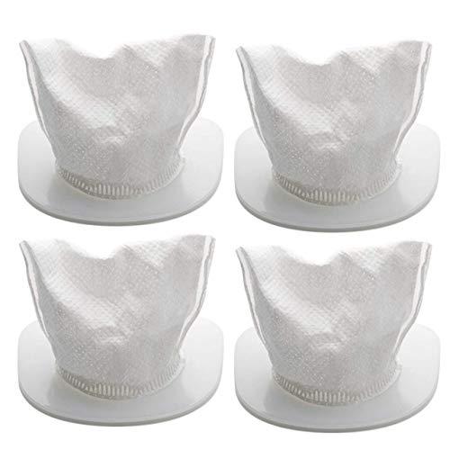Holife aspirabriciole potente, aspirabriciole senza fili potente 8kpa 100w (bianco-filtro aspirabriciole)