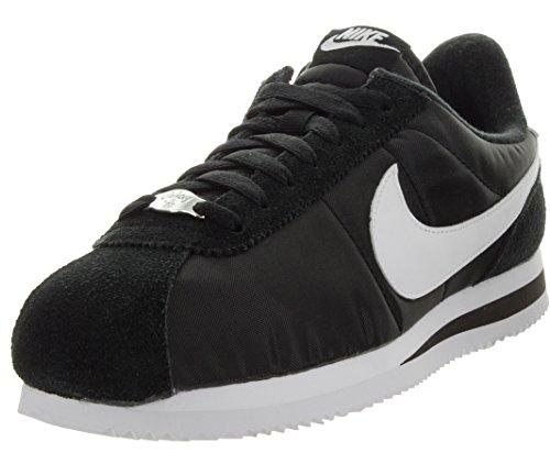 Basket Nike Classic Cortez Nylon - Ref. 819720-411 Black/White/Metallic Silver
