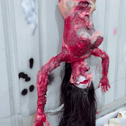 Faul Kostüm Männer - LLU Raum entkommt Spukhaus Dekoration Requisiten Horror-Simulation Menschen Requisiten blutige Männer und Frauen halb Dummy falschen faulen Körper