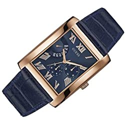 Guess Reloj con Movimiento mecánico japonés Man Catalyst Rose Gold Tone Oro Rosa 39 mm