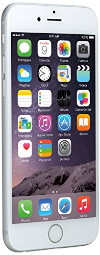 Apple iPhone 6 Plata 16GB Smartphone Libre (Reacondicionado Certificado)
