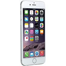 Apple iPhone 6 Plata 128GB Smartphone Libre (Reacondicionado Certificado)