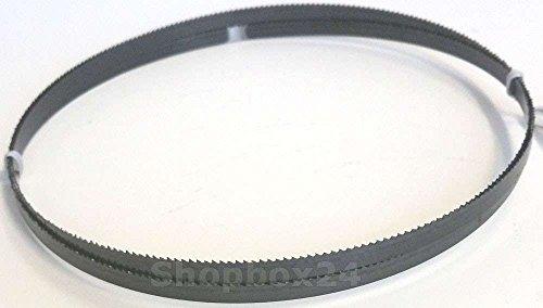 Premium Sägeband Bandsägeband Bandsägeblatt Sägebänder 1490 mm x 6 mm x 0,36 mm x 14 Zähne pro Zoll , für weiche Metalle wie Bronze, Kupfer und Aluminium, geeignet für Maschinen wie : Scheppach Basato 1 uvm.
