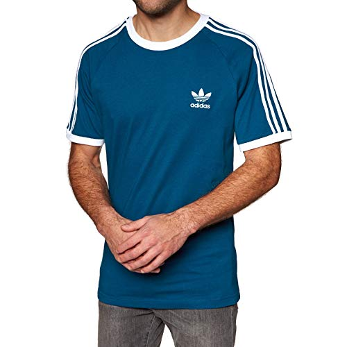 adidas Herren 3-Stripes Tee T-Shirt, Legend Marine, M -