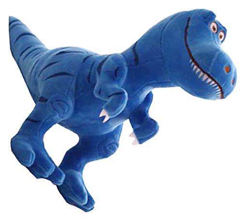 Dragon Troops Internationales T-Rex Dinosaurier Plüschtier für Freunde, 30cm klein, blau