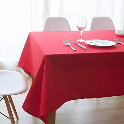Manteles escandinavo moderno gruesa tela algodón