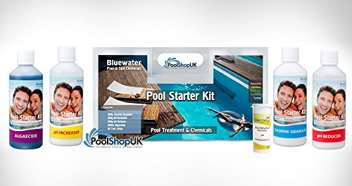 Bluewater Above Ground Swimming Pool Chemical Starter Kit