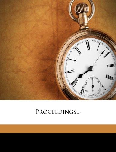 Proceedings.