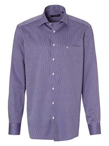 CASAMODA Messieurs Chemise d'affaires manche 69 cm comfort fit violet foncé