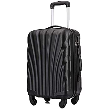 Lightweight Hard Shell Carry On Hand Cabin Luggage Suitcase 55x35x20 55x40x20 cm