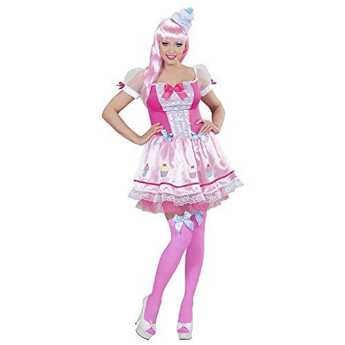 Widmann 01773 - Kostüm Cupcake Mädchen mit Hut, rosa