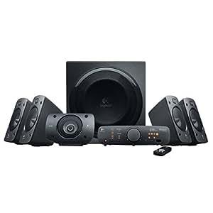 Logitech Z906 3D-Stereo-Lautsprecher THX (Dolby 5.1-Surround-Sound und 500Watt) schwarz