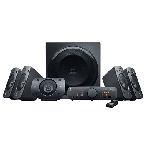 Logitech Z906 5.1 THX y Dolby Digital - Equipo de Home Cinema, negro