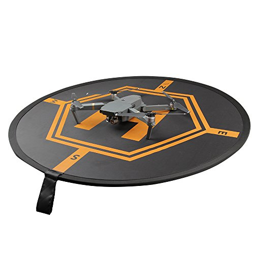 Preisvergleich Produktbild Tragbare Drone Landing Pad Wasserdichte Faltbare Drone Helipad mit Tragetasche für DJI Spark DJI Phantom 4 3 Mavic Pro Inspire 1 RC Hubschrauber Quadcopters Drones Syma Hubschrauber