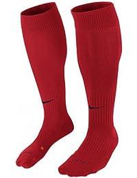 Nike Classic II Calcetines de Fútbol Unisex 1 Par, Adulto, Rojo Universitario/Negro