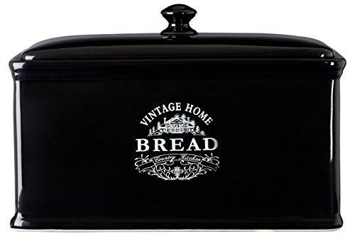 Premier Housewares Vintage Home - Panera, Color Negro