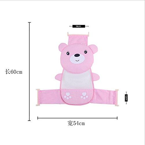Drove Baby Badesitz net Unterstützung Sling Dusche Mesh Baden Wiege hammock-pink