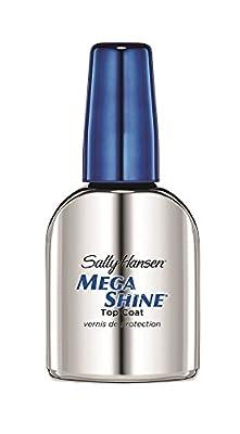 Sally Hansen Mega Shine Top Coat, 12.7 ml, Packaging May Vary