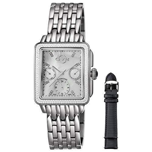 Gevril 9210 - Reloj de Pulsera Mujer, Acero Inoxidable, Color Plata