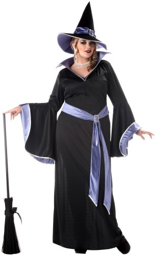 Incantasia Glamour Witch Costume (Plus Size) - Dress 18 to 20 (Hexe Incantasia)