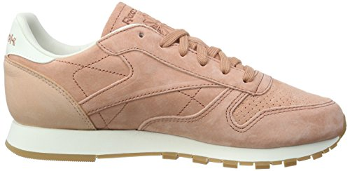 Reebok Damen Classic Leather Bread & Butter Sneakers Pink (Rustic Clay/Chalk/Desert Stone/Gum)