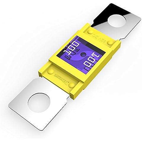 Auprotec® MEGA fusibile ad alta corrente avvitarsi 100A - 300A selezione: 100A Ampere giallo, 3 pezzi