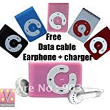 reeload mini portable mp3 player in all mix colour