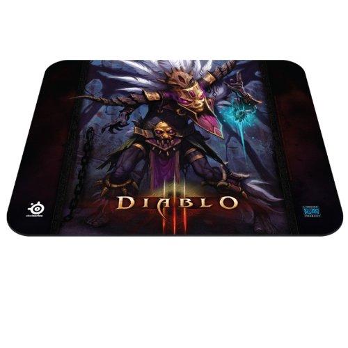 SteelSeries QcK - Alfombrilla de ratón gaming (Edición Diablo III Witch Doctor, 320 x 270 ) [Importación inglesa]