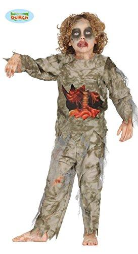 Imagen de disfraz de militar zombie para niño