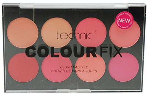 Clown Farbpalette (Technic: 8 Color Blush Palette (28 g))