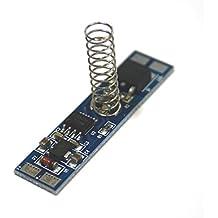 Led touch sensor dimmer Led tàctil Commutador de llums Un 8A Effleurage Ombres 12V 24V amb indicador LED blau indicador de perfil d'alumini TD002