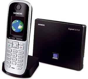 Gigaset  S675 IP Téléphone sans fil DECT\GAP compatible VoIP  répondeur
