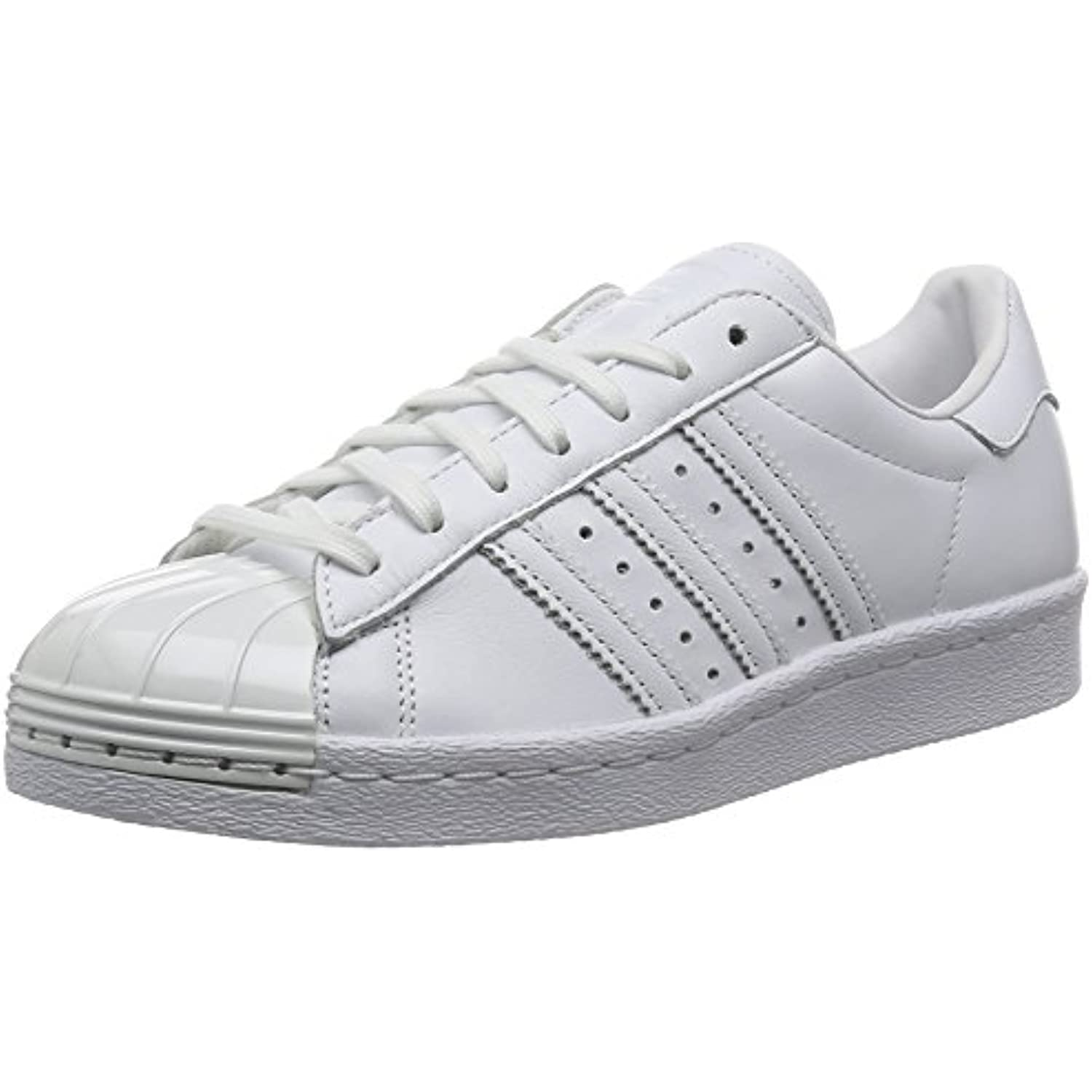 adidas Superstar 80's Metal Toe Toe Toe Femme Baskets Mode Blanc - B01C4CB8I4 - d866c0