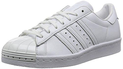 Adidas Sneaker Women SUPERSTAR 80S METAL TOE S76540 Weiß, Schuhgröße:40