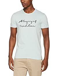 SELECTED HOMME Herren T-Shirt Shhtradition Emb Ss O-Neck Tee