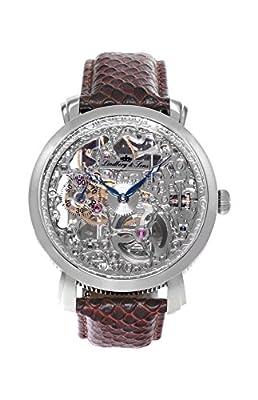 Lindberg & Sons - Reloj analógico para hombre, automático, correa de cuero SK14H063 de Lindberg&Sons
