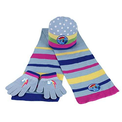 Cerdá Girls' Scarf, Hat & Glove Set One size