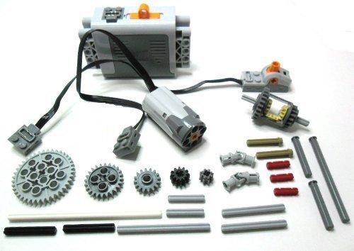 LEGO Technic 32-teiliges Motor-Set mit Zubehör. (Mit Lego-sets Motoren)