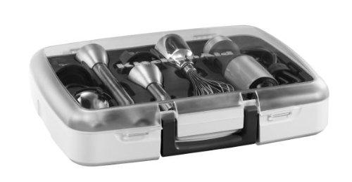 Kitchenaid 5KHB2571ESX Stabmixer mit 5 Geschwindigkeitsstufen, edelstahl
