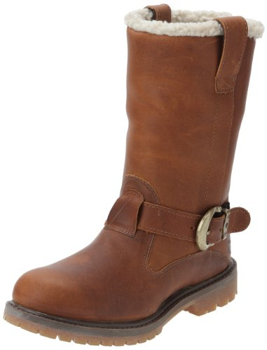 Timberland Nellie Ftb_nellie Pull On Wp Boot, Bottes Femme Marron (Dark Brown)