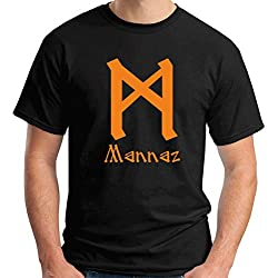 Camiseta manga corta con MANNAZ para hombre
