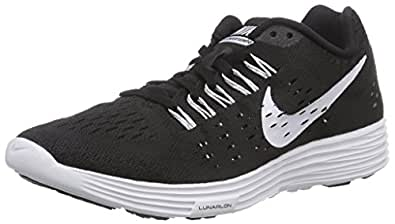 best authentic 6e526 8c3bf ... NIKE Lunar Tempo Womens Running Shoe (8, Black White White)