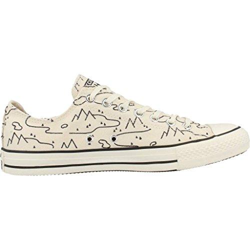 Uomo scarpa sportiva, colore Beige , marca CONVERSE, modello Uomo Scarpa Sportiva CONVERSE CHUCK TAYLOR ALL STAR OX Beige Beige