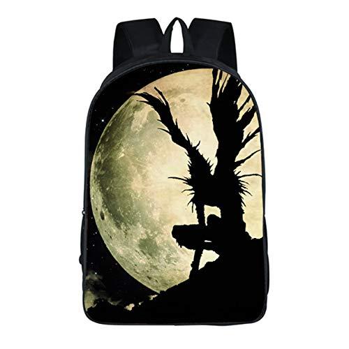 Anime Death Note Rucksack Daypack Laptop Tasche Umhängetasche College Bag Book Bag Schultasche