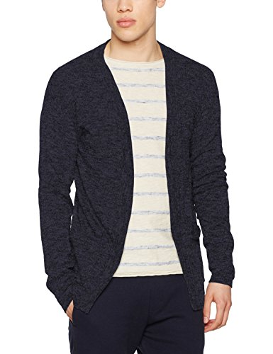 Jack & Jones Jordrew Knit Cardigan, Gilet Homme Bleu (Total Eclipse Fit:knit Fit)