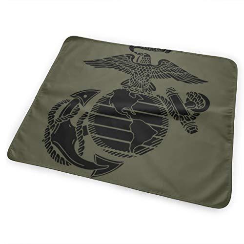 USMC Marine Corps Baby Portable Reusable Changing Pad Mat 25.5