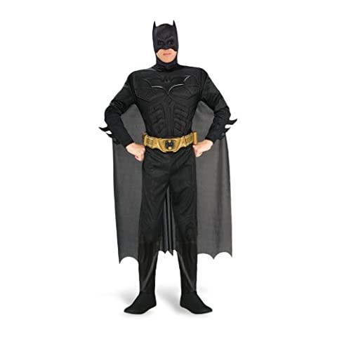 Costume Batman Deluxe - Costume adulte - Noir - L