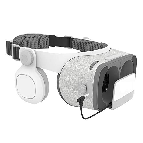 TONGTONG Virtual Reality 3D-Brille Pappe FOV 120 Degrees VR Headset 3D mit Daydream Remote Controller