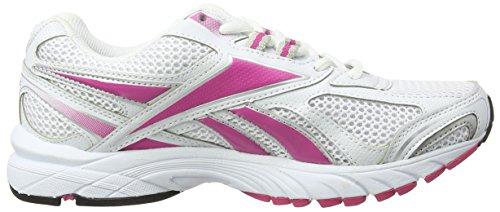 Reebok Pheehan Run, Chaussures de Running Entrainement Femme Blanc (Black/Berry/White/Silver)